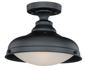 Vaxcel - C0113 - One Light Semi-Flush Mount - Keenan - Oil Rubbed Bronze