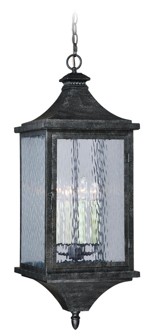 Vaxcel - T0206 - Four Light Outdoor Pendant - Cavanaugh - Athenian Bronze