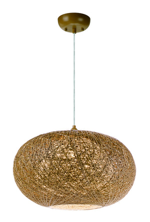 Maxim - 14404NAWT - One Light Pendant - Bali - Natural