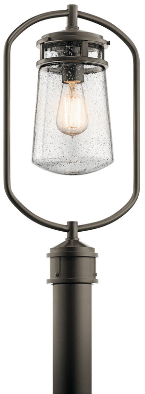 Kichler - 49497AZ - One Light Outdoor Post Mount - Lyndon - Architectural Bronze