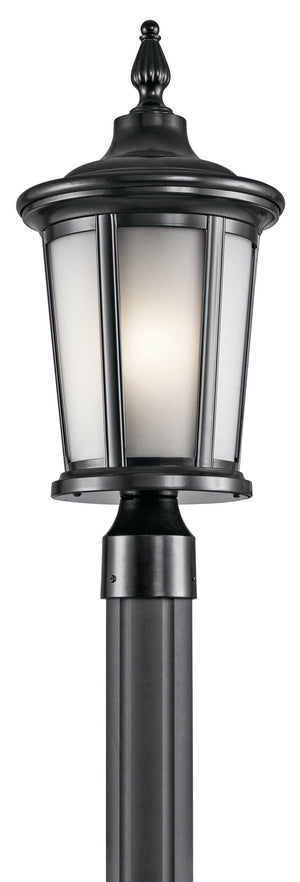 Kichler - 49657BK - One Light Outdoor Post Mount - Turlee - Black