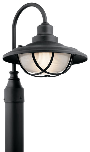 Kichler - 49694BKT - One Light Outdoor Post Mount - Harvest Ridge - Textured Black