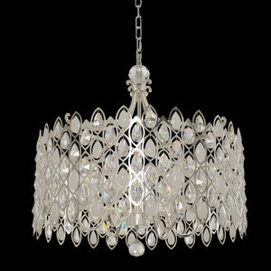 Allegri - 028753-017-FR001 - Six Light Pendant - Prive - Silver