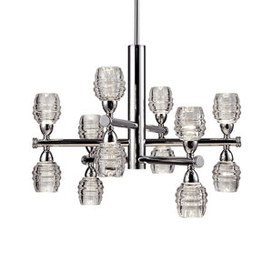 Kuzco Lighting - CH52127-CH - LED Chandelier - Magnificent - Chrome