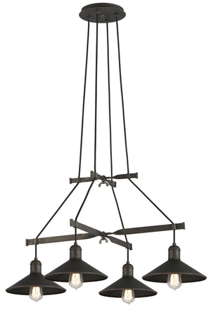 Troy Lighting - F5427 - Four Light Chandelier - Mccoy - Vintage Bronze