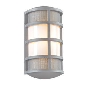 PLC Lighting - 16671SL - One Light Outdoor Fixture - Olsay - Silver