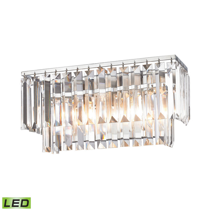 "Elk Lighting Two Light Vanity 15.00"" Polished Chrome"