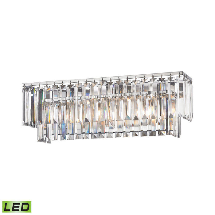 "Elk Lighting Three Light Vanity 21.00"" Polished Chrome"