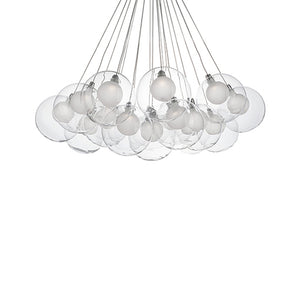 Kuzco Lighting - CH3128 - LED Pendant - Chrome