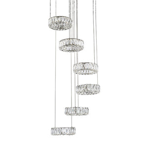 Kuzco Lighting - CH7872 (4000K) - LED Chandelier - Chrome