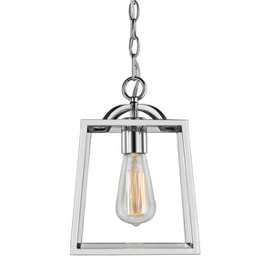 Golden - 3074-1P CH - One Light Mini Pendant - Athena CH - Chrome