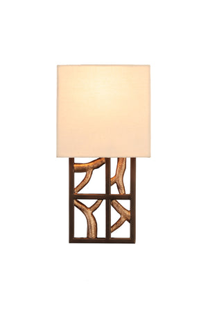Kalco - 501130BZG - One Light Wall Sconce - Hudson - Bronze Gold