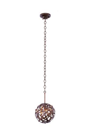 Kalco - 501550CP - One Light Mini Pendant - Ambassador - Copper Patina
