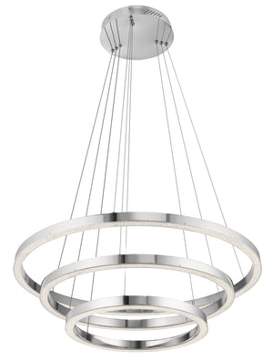 Kichler - 83863 - LED Chandelier - Opus - Chrome