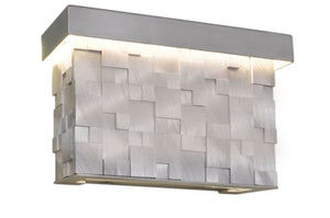 Maxim - 88285AL - LED Wall Sconce - Mosaic - Brushed Aluminum