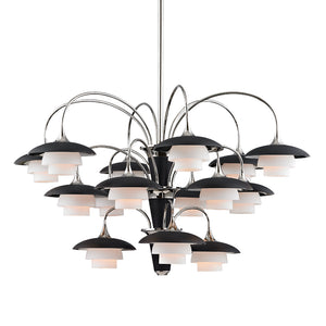 Hudson Valley - 1015-PN - 15 Light Chandelier - Barron - Polished Nickel