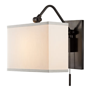 Hudson Valley - 5421-OB - One Light Wall Sconce - Leyden - Old Bronze