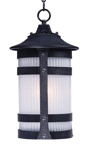 Maxim - 3129CONAR - One Light Outdoor Hanging Lantern - Casa Grande - Anthracite