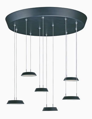 ET2 - E20904-BK - LED Pendant - Quantum LED - Black