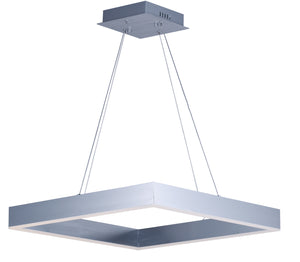 ET2 - E24296-AL - LED Pendant - Metallika LED - Brushed Aluminum
