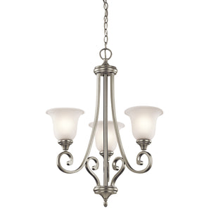 Kichler - 43155NIL18 - LED Chandelier - Monroe - Brushed Nickel