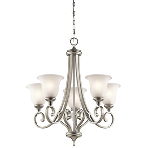 Kichler - 43156NIL18 - LED Chandelier - Monroe - Brushed Nickel