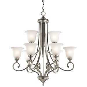 Kichler - 43159NIL18 - LED Chandelier - Monroe - Brushed Nickel