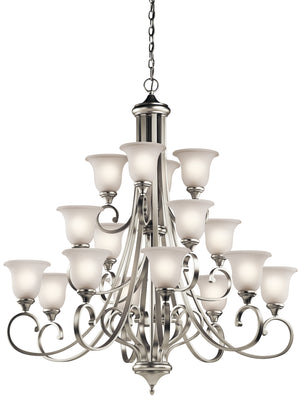Kichler - 43192NIL18 - LED Chandelier - Monroe - Brushed Nickel