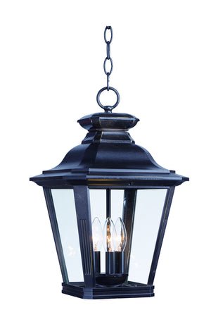 Maxim - 1139CLBZ - Three Light Outdoor Hanging Lantern - Knoxville - Bronze