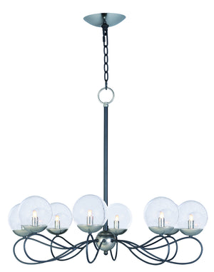 Maxim - 20465BGTXBPN/BUL - LED Pendant - Reverb - Textured Black / Polished Nickel
