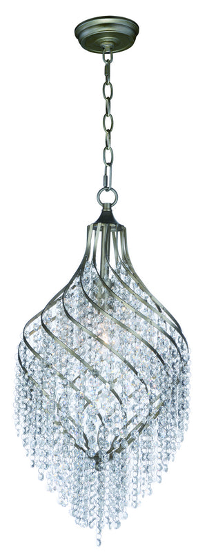 Maxim - 22005BCGS - One Light Pendant - Twirl - Golden Silver