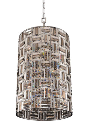 Allegri - 031750-010-FR000 - Eight Light Foyer Pendant - Modello - Chrome