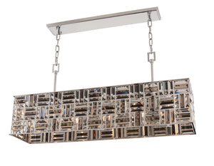 Allegri - 031754-010-FR000 - Five Light Island Pendant - Modello - Chrome
