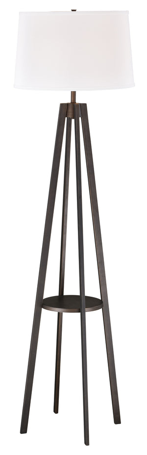 Vaxcel - L0007 - One Light Floor Lamp - Perkins - Sienna Bronze