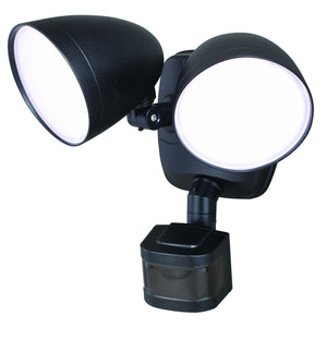 Vaxcel - T0299 - LED Security Light - Tau - Black