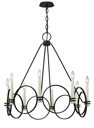 Troy Lighting - F5958 - Eight Light Chandelier - Juliette - Country Iron