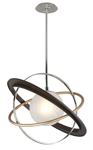 Troy Lighting - F5511 - LED Pendant - Apogee - Two-Tone