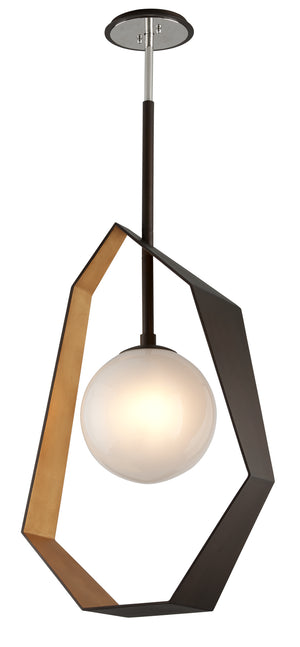 Troy Lighting - F5525 - LED Pendant - Origami - Bronze With Gold Leaf