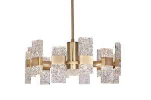 Kuzco Lighting - CH9528-GB - Chandelier - Oslo - Brushed Gold