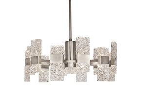 Kuzco Lighting - CH9528-PT - Chandelier - Oslo - Platinum