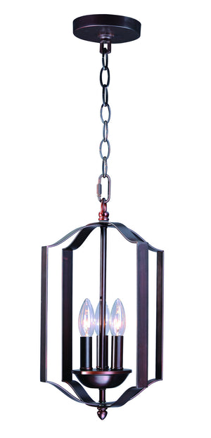 Maxim - 10035OI - Three Light Chandelier - Provident - Oil Rubbed Bronze