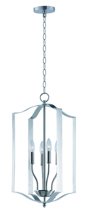 Maxim - 10036SN - Four Light Pendant - Provident - Satin Nickel