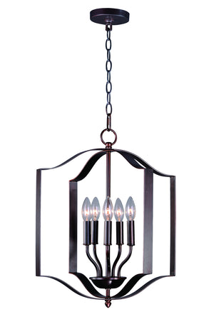 Maxim - 10037OI - Five Light Chandelier - Provident - Oil Rubbed Bronze