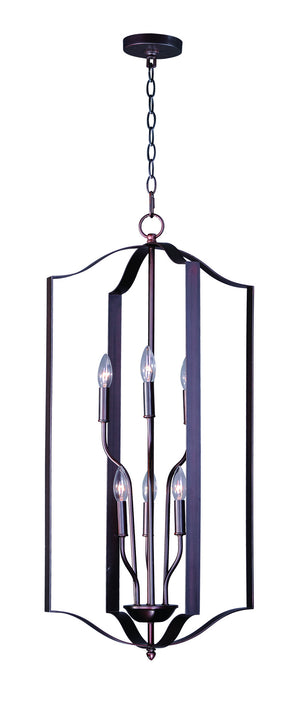 Maxim - 10038OI - Six Light Chandelier - Provident - Oil Rubbed Bronze