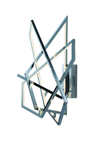 ET2 - E22674-PC - LED Wall Sconce - Trapezoid - Polished Chrome