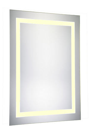 Elegant Lighting - MRE-6012 - LED Mirror - Nova - Glossy White