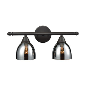 Elk Lighting - 10271/2 - Two Light Vanity - Reflections - Oil Rubbed Bronze