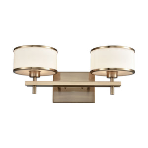 Elk Lighting - 11616/2 - Two Light Vanity - Utica - Satin Black