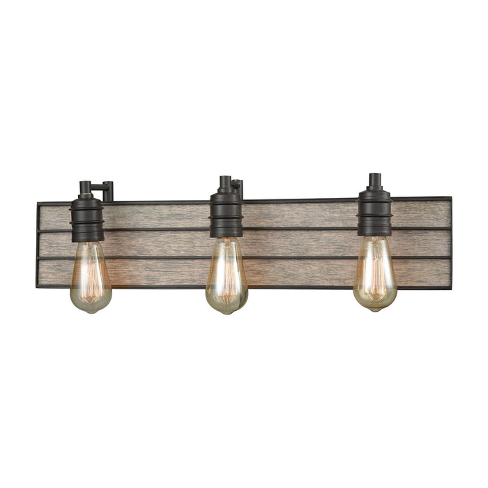 "Elk Lighting Three Light Vanity 24.00"" Oil Rubbed Bronze"