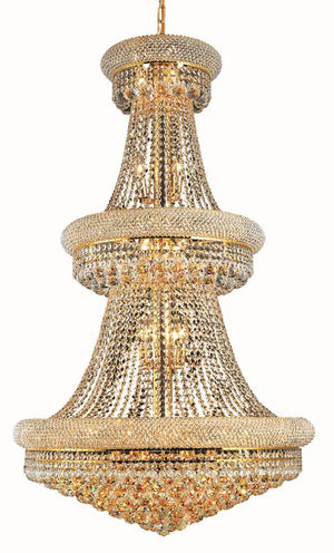 Elegant Lighting - V1800G30G/RC - 32 Light Chandelier - Primo - Gold